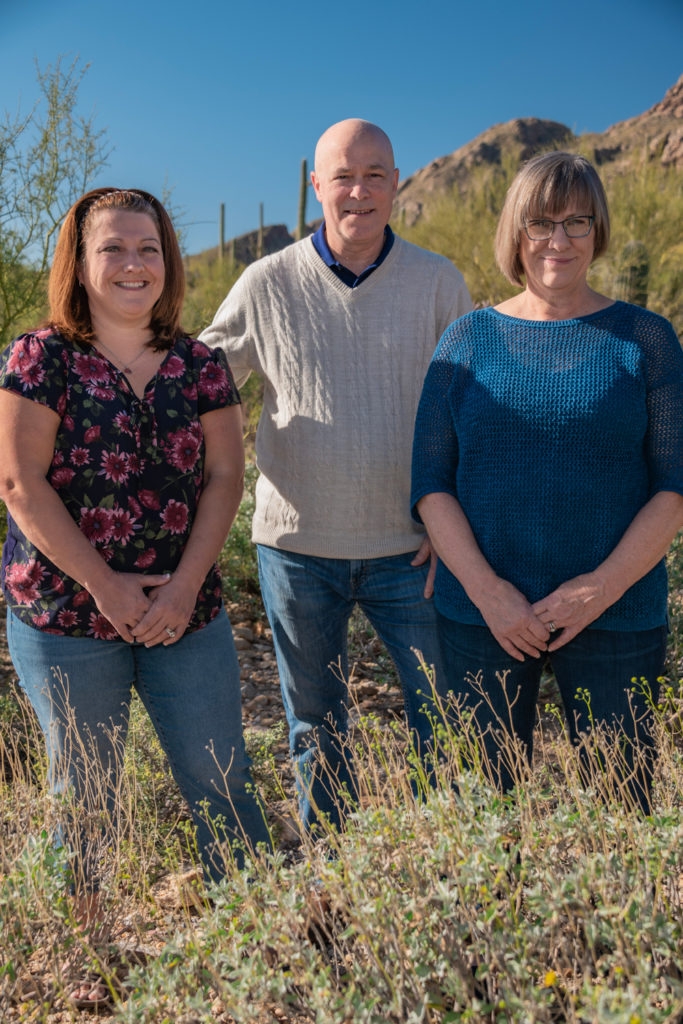 Drs. Christine Graham, Philip Starceski, and Martha Eicher